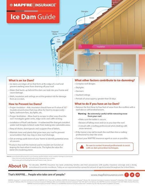Cause and Prevention Summary of Ice Dams