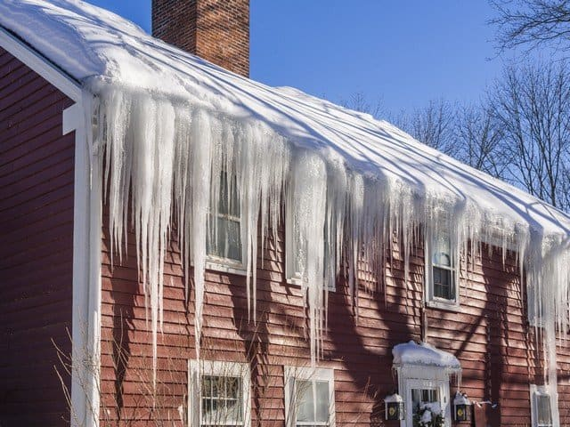 Ice Dams Cause Toxic Mold In Homes!